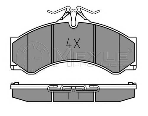 Тормозные колодки Тормозные колодки дисковые PAGID арт. 0252907620
