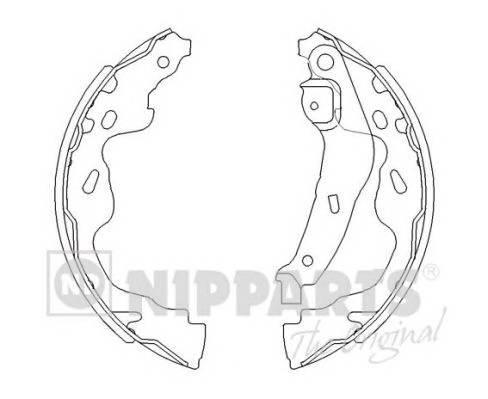 Тормозная система Гальмiвна колодка PAGID арт. J3502082