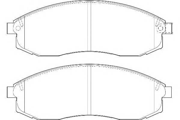 Тормозные колодки Тормозные колодки Wagner PAGID арт. WBP23086A