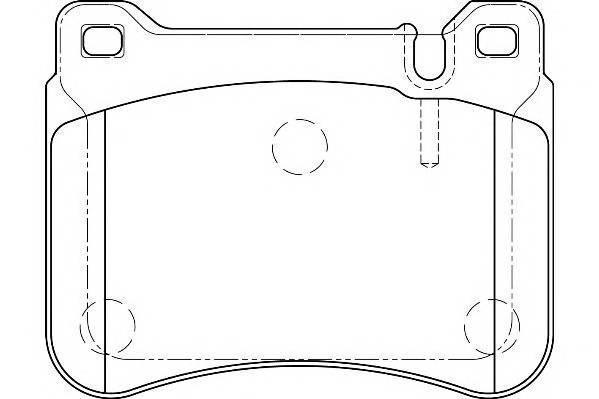 Тормозные колодки Тормозные колодки Wagner PAGID арт. WBP23945A