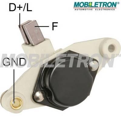Регулятор напряжения системы BOSCH Opel  14Вольт MOBILETRON VRB195M