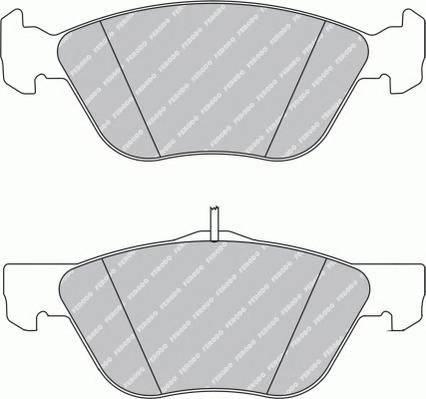 Тормозные колодки Тормозные колодки дисковые PAGID арт. FDB1299