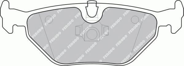 Тормозные колодки Тормозные колодки Ferodo PAGID арт. FDB1301