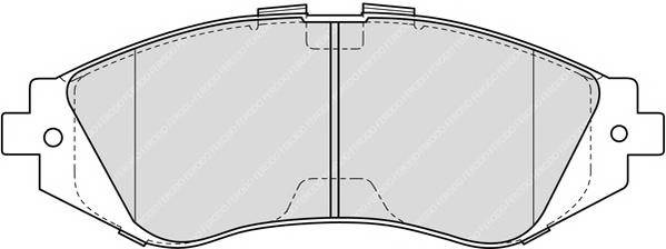 Тормозные колодки Тормозные колодки дисковые PAGID арт. FDB1369
