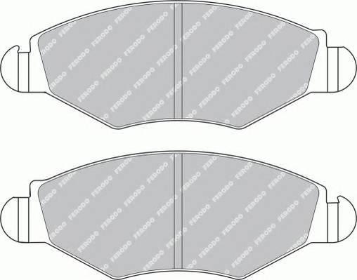 Тормозные колодки Тормозные колодки Ferodo ABE арт. FDB1378