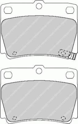 Тормозные колодки Тормозные колодки Ferodo PAGID арт. FDB1570