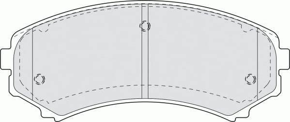 Тормозные колодки Тормозные колодки Ferodo ABE арт. FDB1603