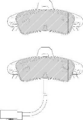 Тормозные колодки Тормозные колодки дисковые PAGID арт. FDB1753