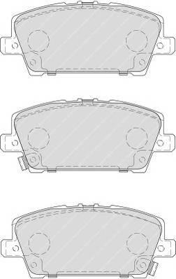 Тормозные колодки Тормозные колодки Ferodo ABE арт. FDB1859