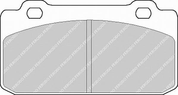 Тормозные колодки Тормозные колодки дисковые PAGID арт. FDB349
