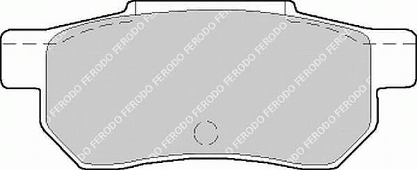 Тормозные колодки Тормозные колодки Ferodo PAGID арт. FDB472