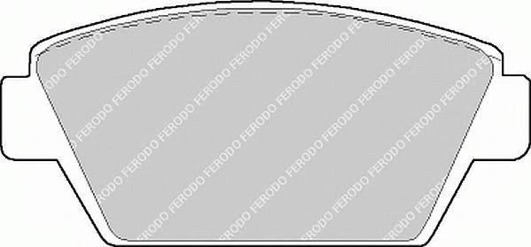 Тормозные колодки Тормозные колодки Ferodo PAGID арт. FDB507