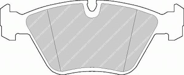 Тормозные колодки Тормозные колодки дисковые PAGID арт. FDB577