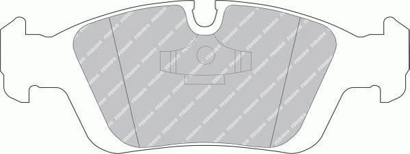 Тормозные колодки Тормозные колодки дисковые ABE арт. FDB725