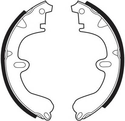 Тормозные колодки Тормозные колодки барабанные FERODO арт. FSB208