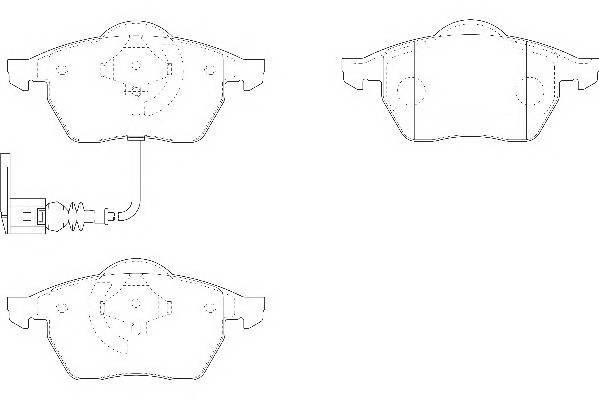 Тормозные колодки Тормозные колодки Wagner PAGID арт. WBP20676C
