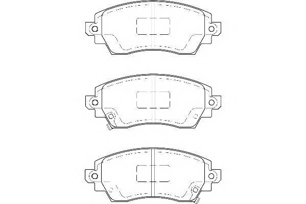 Тормозные колодки Тормозные колодки Wagner PAGID арт. WBP23088A