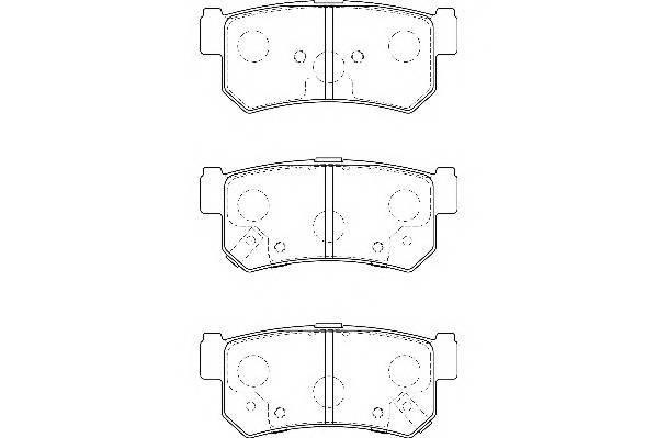 Тормозные колодки Тормозные колодки дисковые WAGNER арт. WBP23673A