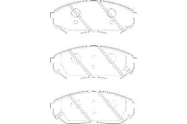 Тормозные колодки Тормозные колодки Wagner PAGID арт. WBP24092A