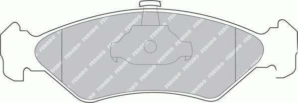 Тормозные колодки Тормозные колодки Ferodo ABE арт. FDB1082