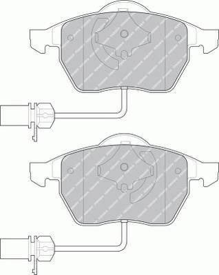 Тормозные колодки Тормозные колодки дисковые PAGID арт. FDB1323