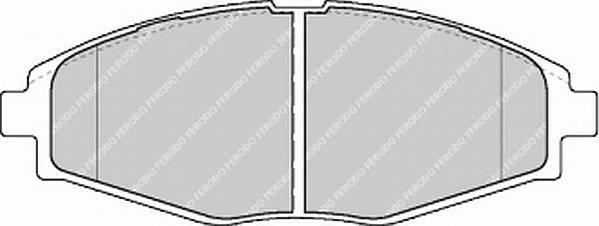 Тормозные колодки Тормозные колодки дисковые ABE арт. FDB1337