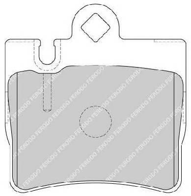 Гальмівні колодки, дискові PAGID арт. FDB1427