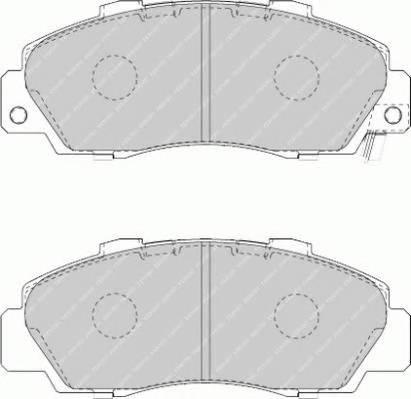 Тормозные колодки Тормозные колодки Ferodo ABE арт. FDB1505