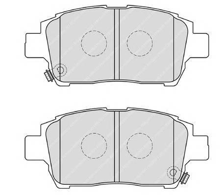 Тормозные колодки Тормозные колодки Ferodo PAGID арт. FDB1985