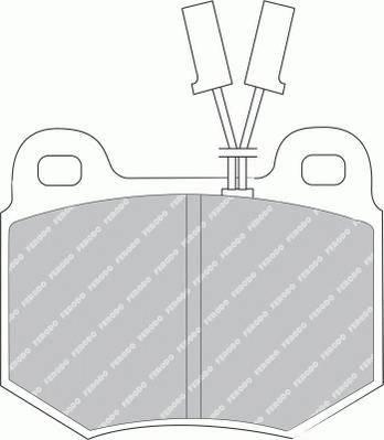Тормозные колодки Тормозные колодки дисковые PAGID арт. FDB448
