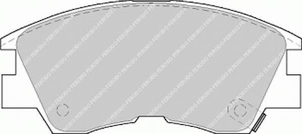 Тормозные колодки Тормозные колодки Ferodo PAGID арт. FDB556
