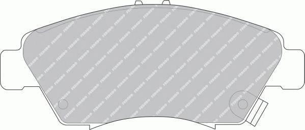 Гальмівні колодки, дискові ABE арт. FDB776