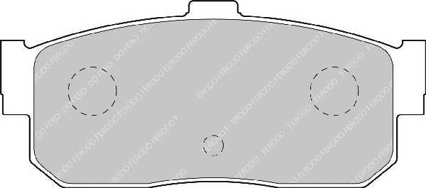 Тормозные колодки Тормозные колодки Ferodo PAGID арт. FDB796