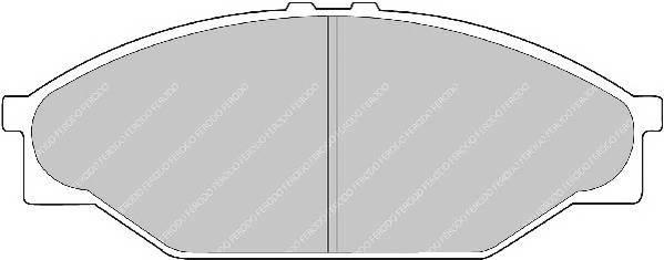 Тормозные колодки Тормозные колодки дисковые PAGID арт. FVR949