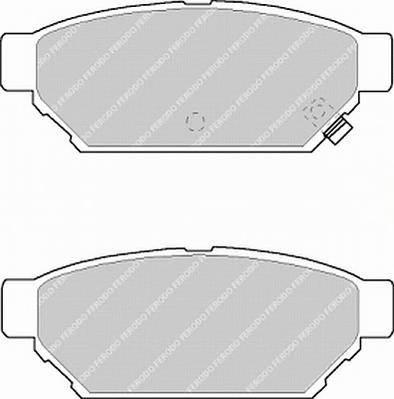 Тормозные колодки Тормозные колодки Ferodo PAGID арт. FSL1013