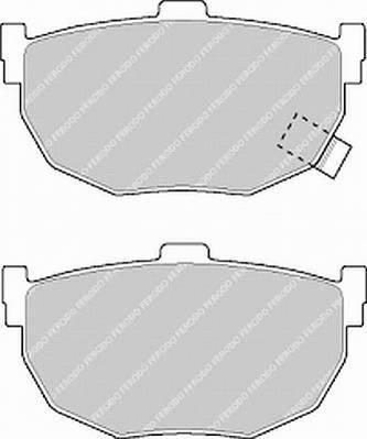 Тормозные колодки Тормозные колодки Ferodo PAGID арт. FSL638