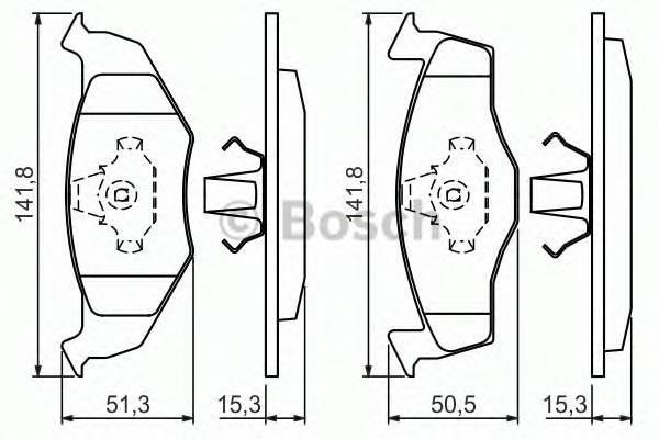 Тормозная система Гальмiвнi колодки, к-кт. PAGID арт. 0986424449
