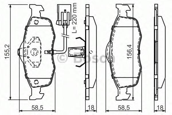 Тормозные колодки Тормозные колодки PAGID арт. 0986495003