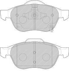Тормозные колодки Тормозные колодки Ferodo ABE арт. FDB1447