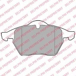 Гальмівні колодки, дискові PAGID арт. LP1407
