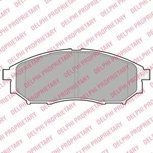 Гальмівні колодки, дискові ABE арт. LP2030