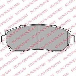 Гальмівні колодки, дискові ABE арт. LP2046
