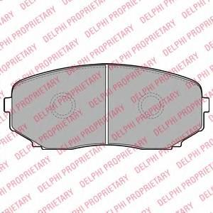 Гальмівні колодки, дискові ABE арт. LP2098