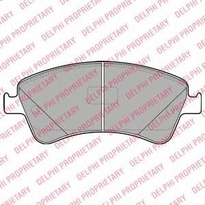 Гальмівні колодки, дискові ABE арт. LP2104