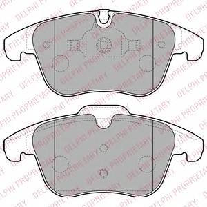 Гальмівні колодки, дискові ABE арт. LP2165