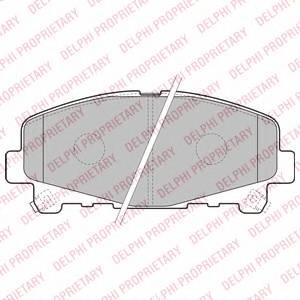 Гальмівні колодки, дискові ABE арт. LP2166