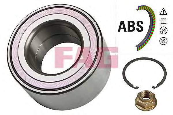 Підшипник роликовий і змазка (комплект) FAG 713615790