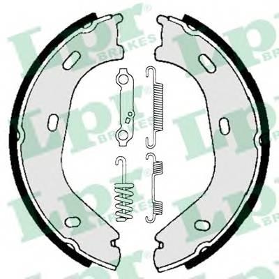 Тормозные колодки Тормозные колодки барабанные PAGID арт. 01839