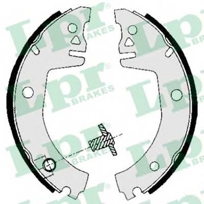 Тормозные колодки Тормозные колодки барабанные ABE арт. 05780