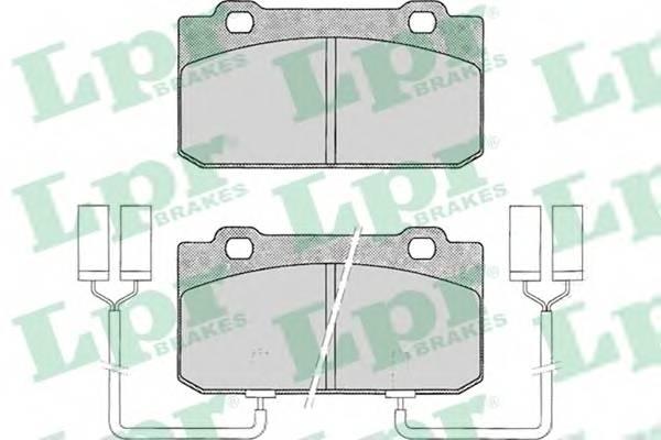 Тормозные колодки Тормозные колодки дисковые PAGID арт. 05P018
